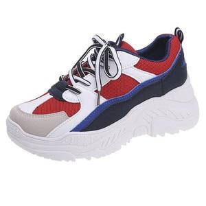 Image 5 - Scarpe da corsa in PU per Sneakers Donna Scarpe Donna traspirante feminino Zapatillas Mujer femme 2019 Deportivas Zapatos
