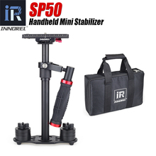 INNOREL SP50 Handheld Steadicam Aluminum DSLR Camera Stabilizer Video Steadycam Camcorder Steady Cam Glidecam Filmmaking Gimbal