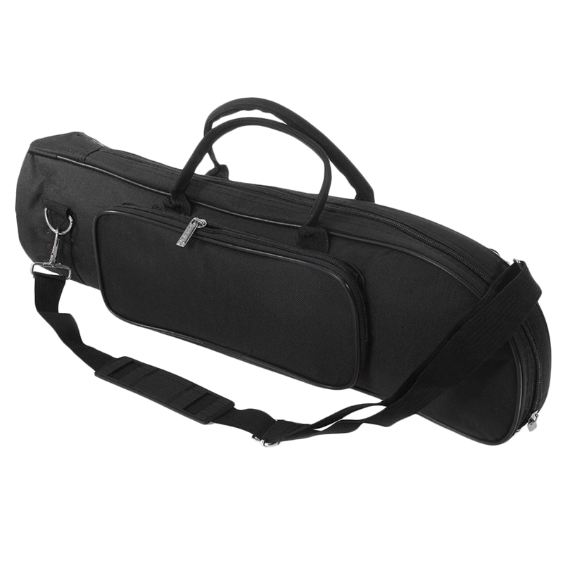 ABZB-Trumpet Gig Bag Professional Padded Soft Carrying Case Backpack Handbag With Shoulder Strap Instrument