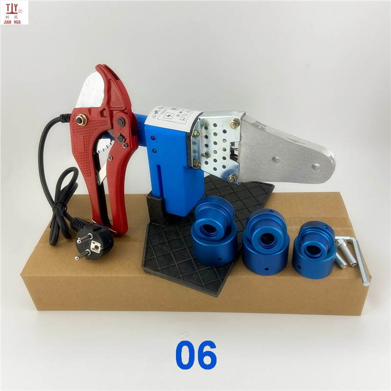 PPR Welding Free Plastic Welding Pipe Hot Shipping Set PB Blue Tube Heating PPR Machine For Plastic Heads Tool PE Ocean
