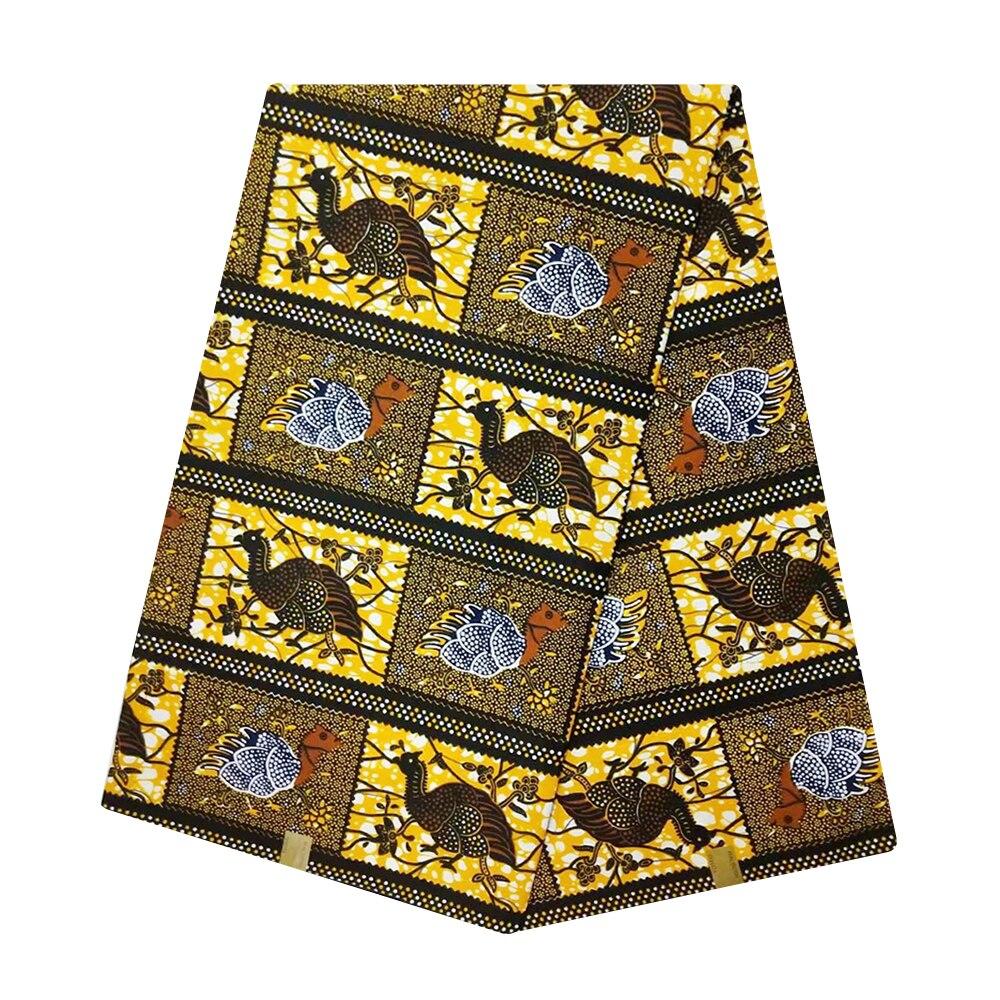 African Wax Fabrics Pagnes Africain Wax High Quality Netherlands Ankara Fabric African Real Wax Print Materials