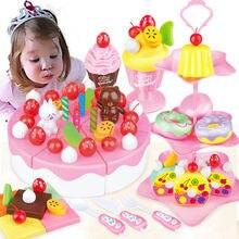 39 80 шт Сделай Сам ролевые игры фруктовый торт на день рождения