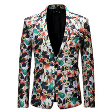 Colorful suit, flower suit, men's suit jacket, men's suit, men's print suit, flower suit, men's jacket, mens blazer, blazer man suit wessi suit