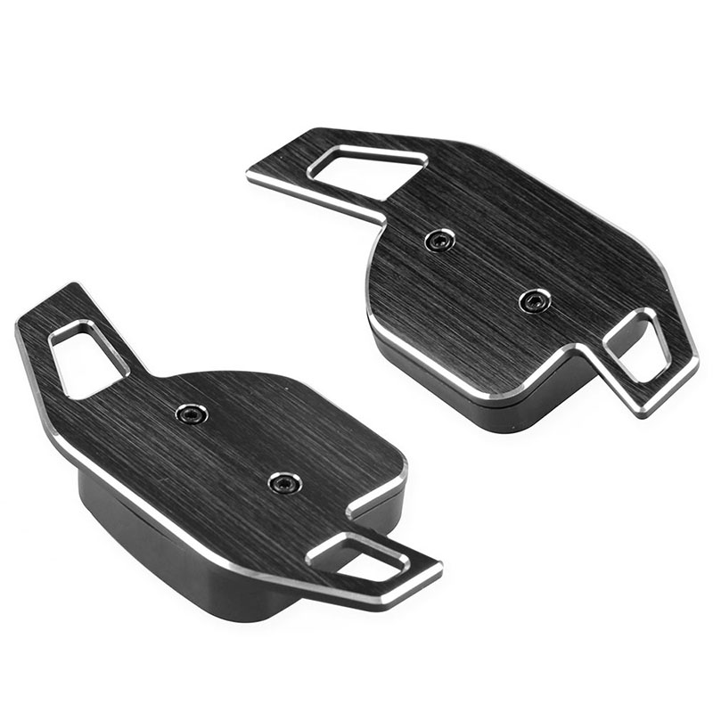 Aluminum Car Steering Wheel Shift Paddle Shifter Gear Extention Accessories  Extensions For Audi