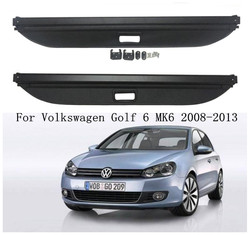 JINGHANG Car Rear Trunk Cargo Cover Security Shield Screen shade Fits For Volkswagen Golf 6 MK6 2008 2009 2010 2011 2012 2013