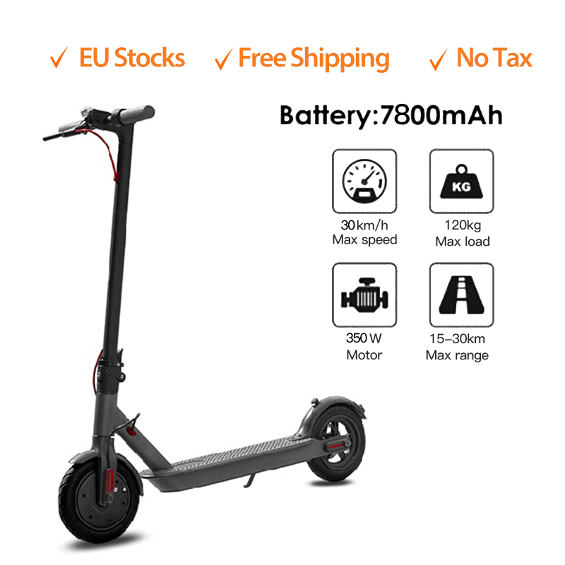 8.5 Inches <font><b>Electric</b></font> <font><b>Scooter</b></font> With Aluminum Alloy Frame Foldable <font><b>Electric</b></font> <font><b>Scooter</b></font> <font><b>Electric</b></font> Skateboard <font><b>250W</b></font> Adult 7.5Ah Battery image