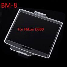 10 stks/partij BM 8 Hard Plastic Film LCD Monitor Scherm Cover Protector voor Nikon D300