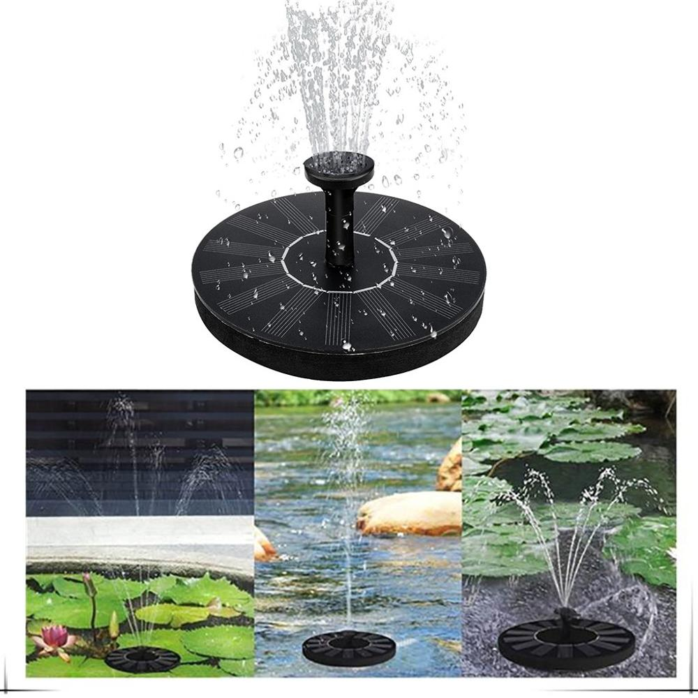 New Solar Power Water Fountain Pump Solar Fontein Bird Fountain Water Floating Fountain Pond Garden Patio Decor Lawn Decoration