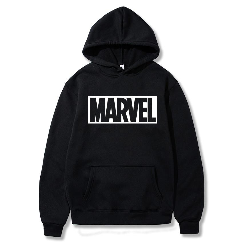 Marvel Hoodies Men Brand Long Sleeve Solid Color Hooded Sweatshirt Mens Hoodie Tracksuit Sweat Coat Casual Innrech Market.com