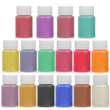 Soap Mineral-Powder Dye-Pearl-Pigment Mica Epoxy Resin 16-Colors Handmade Natural