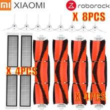 Accessories Kits for xiaomi Roborock S50 S51 E25 S5 E20 C10 Robot Vacuum Parts Mop Cloths filter Side Brush Roll