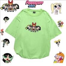 Summer Loose Buttercup t-shirt Women Girls Harajuku Bubbles t-shirts Cotton printing funny t-shirt Oversized top tees S-5XL