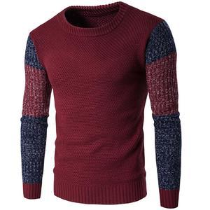 Зимний 2020 свитер с круглым вырезом, Мужской винтажный трикотажный пуловер, Повседневный пуловер, мужская верхняя одежда, тонкий вязаный сви...