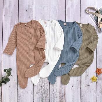 Baby Girl Clothes Boy Cotton Knitted Romper Infant Jumpsuit Spring Outfits Costume Toddler Girls Summer Newborn Clothing