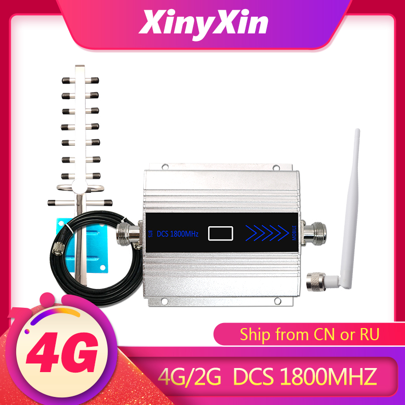 LTE DCS GSM 1800mhz 4G amplifier <font><b>repeater</b></font> <font><b>2g</b></font> signal <font><b>repeater</b></font> cellular signal booster amplifier 4G <font><b>Repeater</b></font> Band 3 LCD Display image