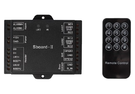 Sboard-II Wifi Mini Two-door Controller Remote Open Door By Mobile Support Wiegand 26~37bits Reader Mini Wifi Access Controller