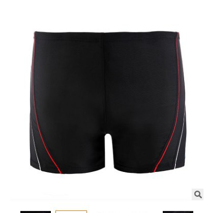 2018 New Products Adult Men Beach Quick-Dry Shorts Plus-sized Loose Fashion Stripes Hot Springs Swimming Swimming Trunks