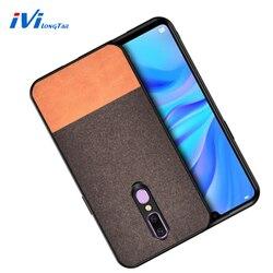 На Алиэкспресс купить чехол для смартфона ivilongtail fabric cloth texture splice hard tpu case for oppo a5 a7 a9 a9x r17 f11 reno2 reno2x reno full phone protective case