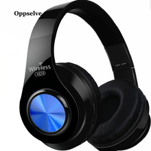 Gaming Headset Deep Bass Stereo Casque Wireless Earphone Headphones with Microphone Support TF Card for PS4 PC Laptop All Phones cheap Oppselve Dynamic Ear Hook 70dB Bluetooth 30mW 0 25m HiFi Headphone Common Headphone Sport For Mobile Phone Monitor Headphone
