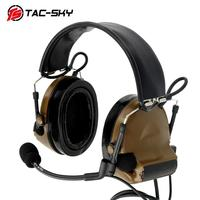 outdoor sports TAC-SKY walkie-talkie U94 PTT + COMTAC II silicone earmuffs outdoor hunting sports noise reduction military tactical headset CB (2)