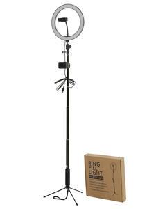 Led-Light Tripod Selfie-Stick Video Photo-Studio Photography Outube Live-3300-5500k 10-Inchs