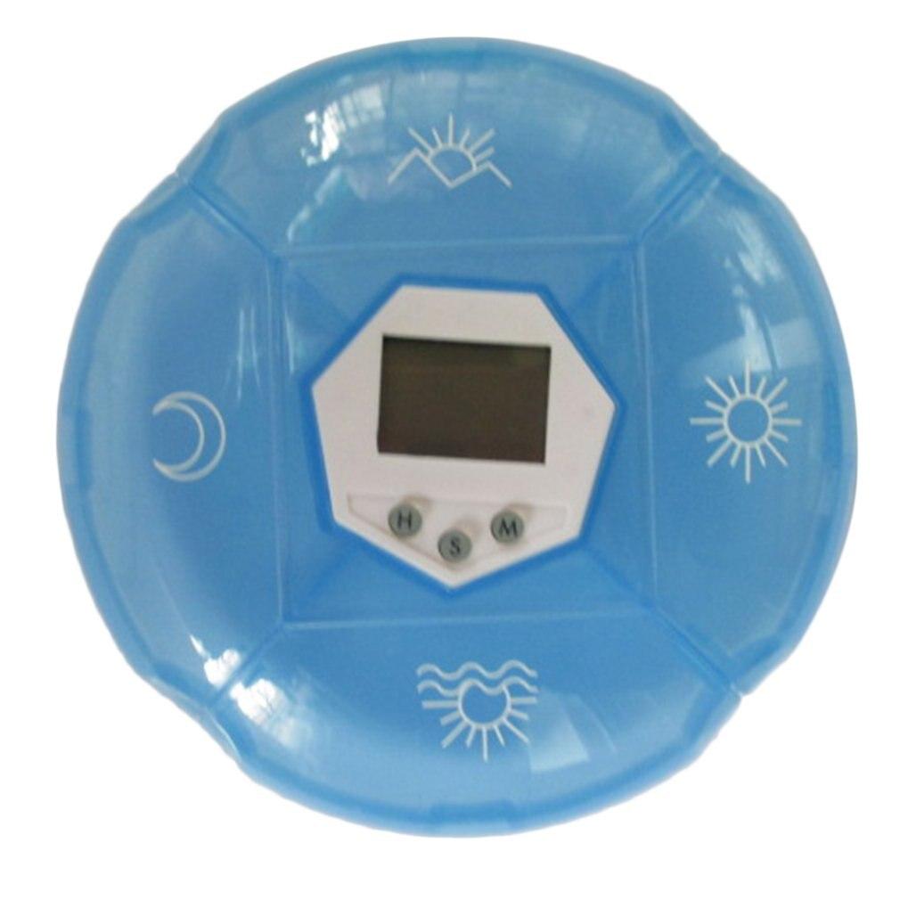 New Portable Mini Timing Medicine Pill Case Box Suit For Kids Elderly Exquisitely Designed Durable Gorgeous