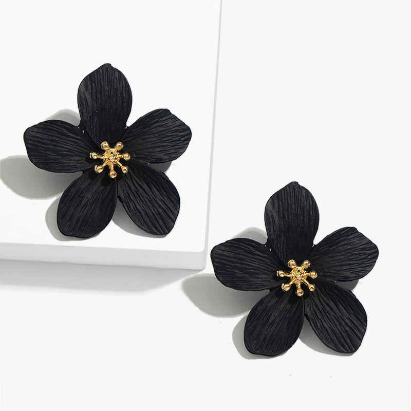 Flatfoosie mode fleur douce boucles d'oreilles pour les femmes élégant cerisier fleur été Style boucles d'oreilles fête 2019 femme bijoux