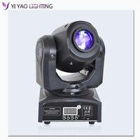 Mini dj lights 10W led moving head spot light beam moving head gobo stage light