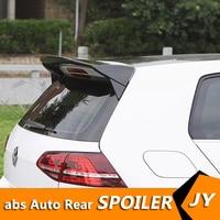 For Volkswagen GOLF 7 MK7 Spoiler 2014 2018 GOLF 7.5 spoiler ABS Material Car Rear Wing Primer Color Rear Spoiler