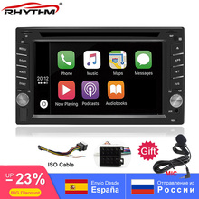2din Car DVD Radio universal autoradio carplay Stereo In-Dash FPS Bluetooth USB/SD/AV-IN Steering Wheel Control touch FM AM CAM