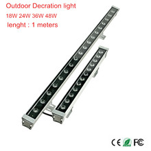 Wall Washer LED Floodlight Outdoor 36W Lamp IP65 Landscape Waterproof Cold/rgb 18W 24W