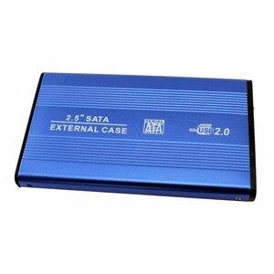 2,5 дюйма USB 2,0 внешний корпус для жесткого диска ТБ 480 Мбит/с высокоскоростной алюминиевый корпус для жесткого диска 2,5