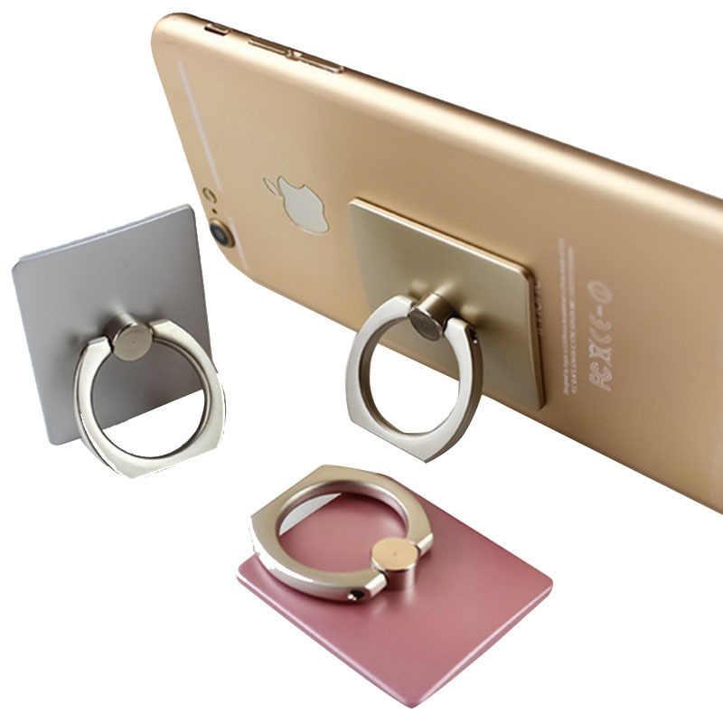 Nhẫn Khóa Điện thoại di động giá đỡ lưng Giày lười Giá đỡ điện thoại máy tính bảng đa năng chân đế quay 360 độ Kẹp Điện Thoại