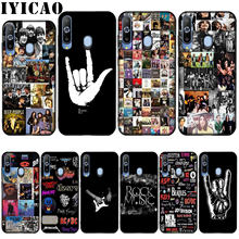 Classic Rock And Roll Albums Collage by Soft Silicone Cover for Samsung Galaxy Note 10 Plus A50s A40s A30s A20s A10s Case(China)