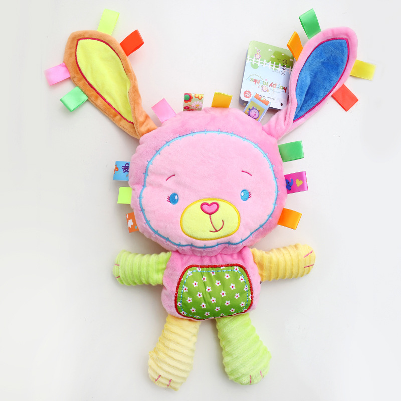 Toys & Hobbies ... Stuffed Animals & Plush ... 32328553748 ... 2 ... 8 Styles Baby Toys Plush Rattles Cute Stuffed Animal Infant Educational Learning Toys Gift for Toddler Children 0-12 month WJ199 ...