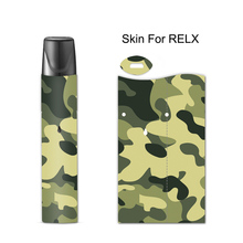 Camouflage Sticker Printing Skin For Relx Cover Film Case for E Cigarette