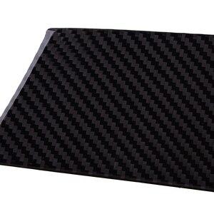 Image 3 - Carbon Schwarz Auto Dashboard Panel Abdeckung Aufkleber Fit für BMW X5 X6 E70 E71 2008 2009 2010 2011 2012 2013 links Hand Stick