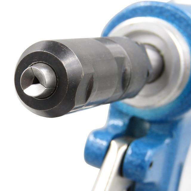 Pneumatic Air Hydraulic Rivet Gun Riveter Industrial Nail Riveting Tool Suitable for Aluminium/ Iron /Stainless Steel Nails 3