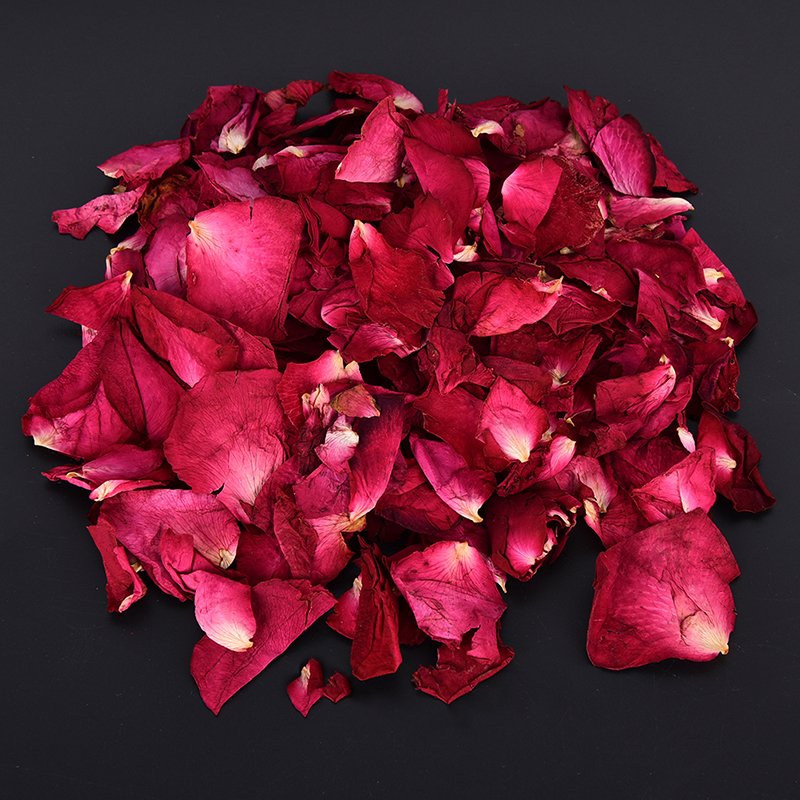 100/50/30g Dried Rose Petals Natural Dry Flower Fragrant Bath Spa Shower Tool Whitening Bath Beauty Body Foot Skin Care