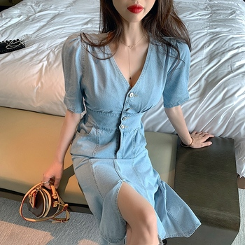 2020 spring summer autumn new woman Lady fashion casual sexy women Dress female party  dress Vq9798