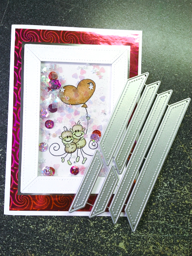 Frame die Collection Metal Cutting Dies Stencils Scrapbook Photo Album Decorativ