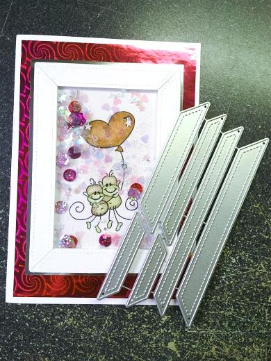 Flower Frame Edge Cutting Dies Stencil DIY Scrapbooking Paper Card Album Craft