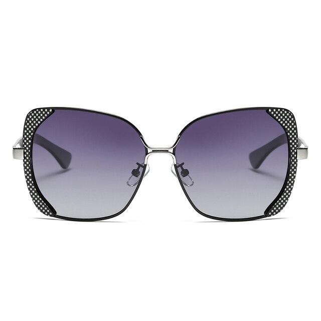 BARCUR Female Sunglasses Women Brand Designer Polarized Sunglasses Summer Lens Sun Glasses for Women Shades 6