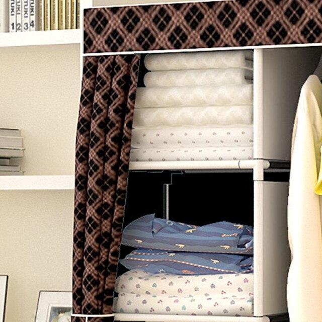 Многоцелевой нетканый шкаф для спальни складной портативный шкаф для хранения одежды пылезащитный чехол гардероб мебель для дома 1