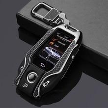 Zinc alloy car key case cover fob For bmw 7 series 730li 740li 750li 760li 5 series G11 G20 G30 G12 G30 G31 G32 i8 I12 I15