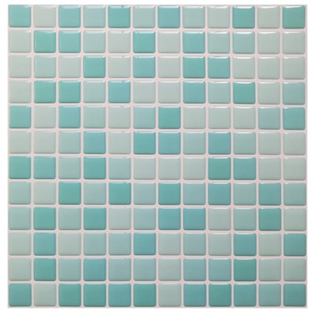 Mosaic Wall Tile Peel and Stick  Self adhesive Backsplash DIY Kitchen Bathroom Home Wall Sticker Vinyl 3D 13