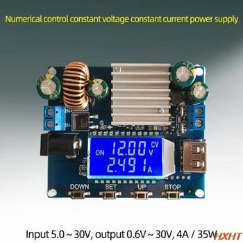 SK35L-DC adjustable power module   0.6-30V 4A 35W 5V 6V 9V 12V, regulated DC boost/buck, laboratory DC power module sk80 dc dc buck boost converter cc cv 0 6 36v 5a power module adjustable regulated laboratory power supply variable 5v 12v 24v