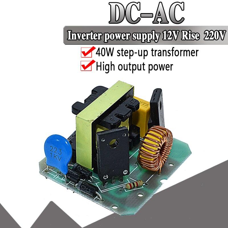 12V zu 220V 35W Step UP Power Module DC-AC Boost Inverter Modul Dual Kanal Inverse Konverter Booster modul Power Regler
