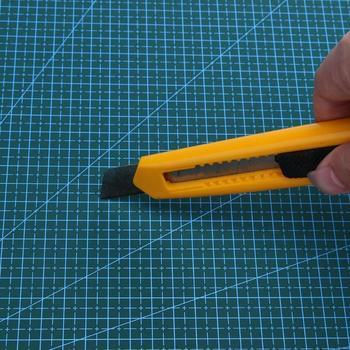 Mata Do Cięcia Z Pcv A3 Trwała Podkładka Dwustronna Samolecząca Antypoślizgowa Mata Do Cięcia DIY Patchwork Organizer Na Biurko