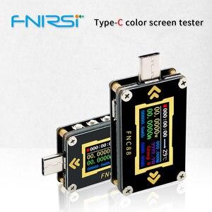 Image 1 - FNC88 Type C PD trigger USB C Voltmeter ammeter voltage 2 way current meter multimeter PD charger battery USB Tester